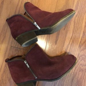 473414dde74b ... Lucky Brand Suede Ankle Booties Size 9 Stella McCartney Adidas ...